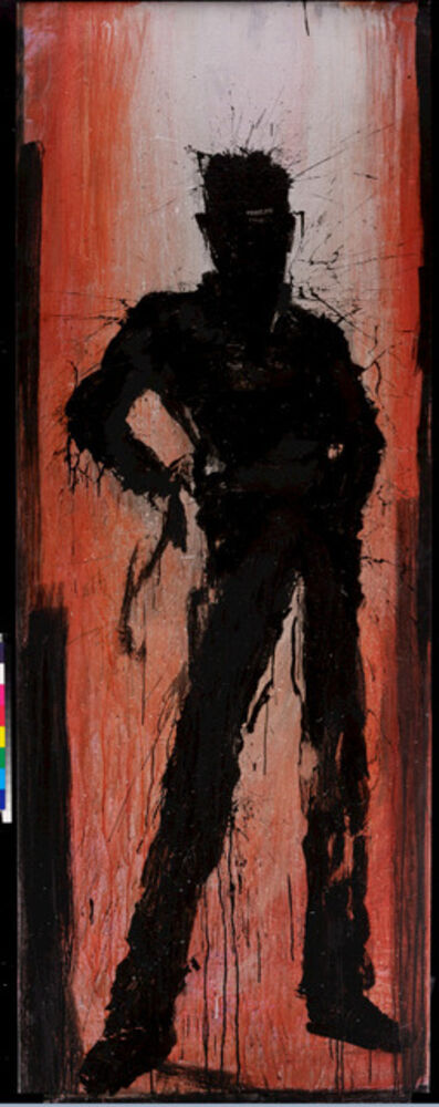 Richard Hambleton, 'Standing Shadow with Orange/Pink', 2009