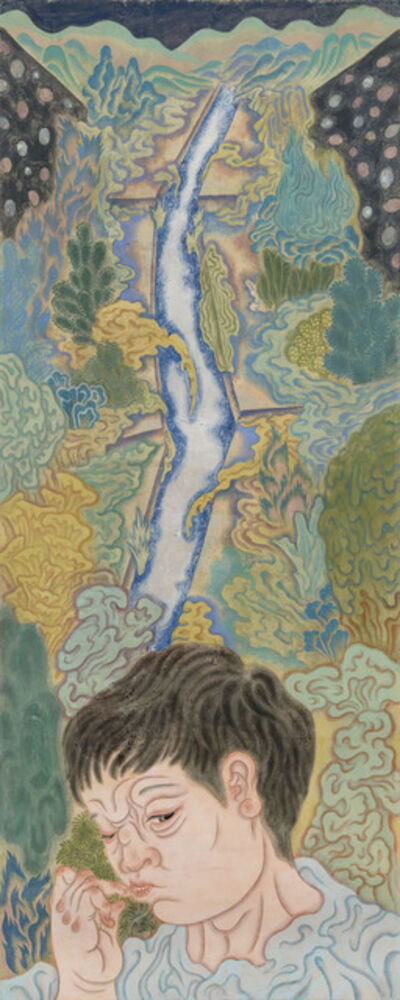 ChienYing Tseng, 'River on the Back Mountain', 2019