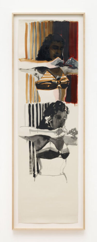 Lisa Brice, 'Untitled xxiii, (Well Worn 23)', 2015-2017