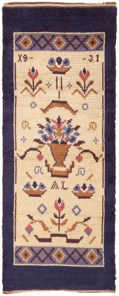Barbro Sprinchorn, 'Vintage Swedish Rug by Barbro Springchorn', ca. 1950
