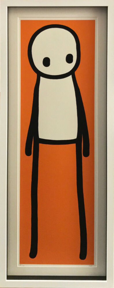 Stik, 'Book print (orange)', 2015