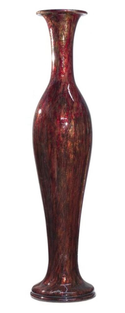 Tommy Zen, 'Oxblood Néo Classique Vase'