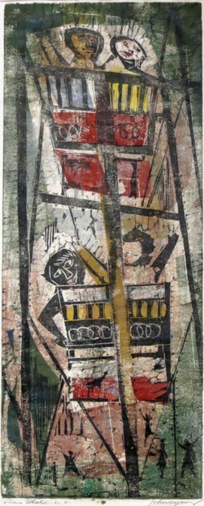 John Chin Young, 'Ferris Wheel', ca. 1960