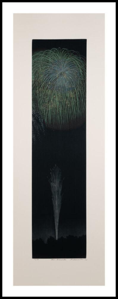 Katsunori Hamanishi, 'Green Fireworks', 2021