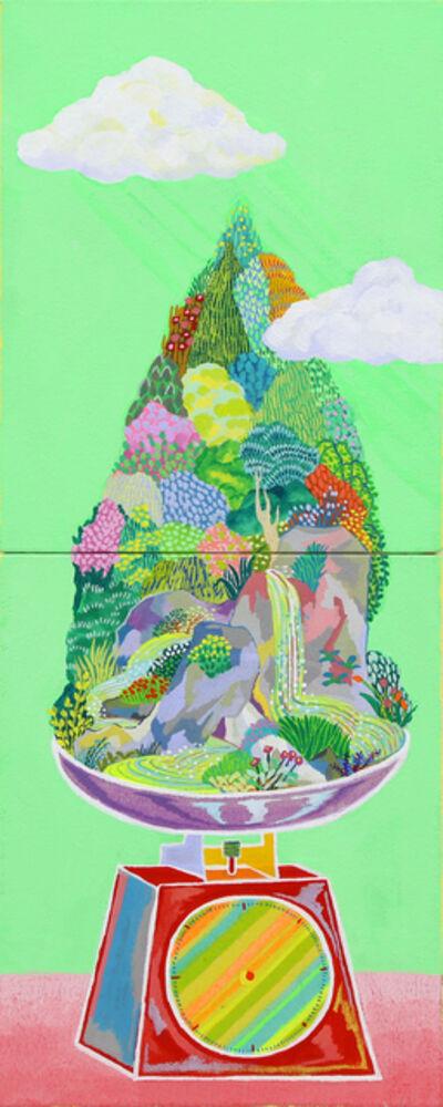 Sachiho Ikeda, 'Green Balance', 2015