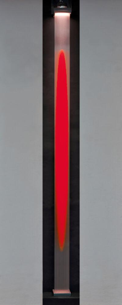 Yoshiyuki Miura, 'Wandarbeit Rot ', 2015