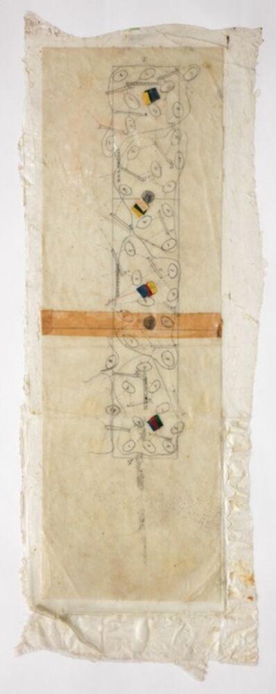 Barbara T. Smith, 'Field Piece Schematic', 1968-1972