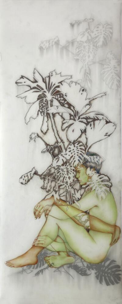 Anthony Goicolea, 'Terrarium left, triptych', 2012