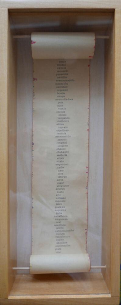 Leandro Katz, 'Columna IV  - Sección 1', 1972