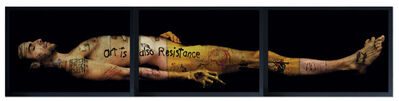 Yves Hayat, 'ART IS ALSO RESISTANCE - LE CHRIST MORTE', 2010