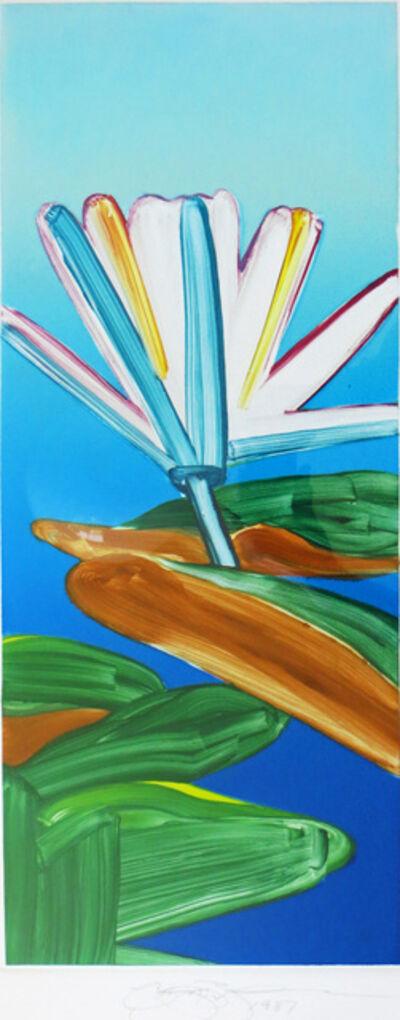 Gary Bukovnik, 'Monoprint of a Lotus', 1987