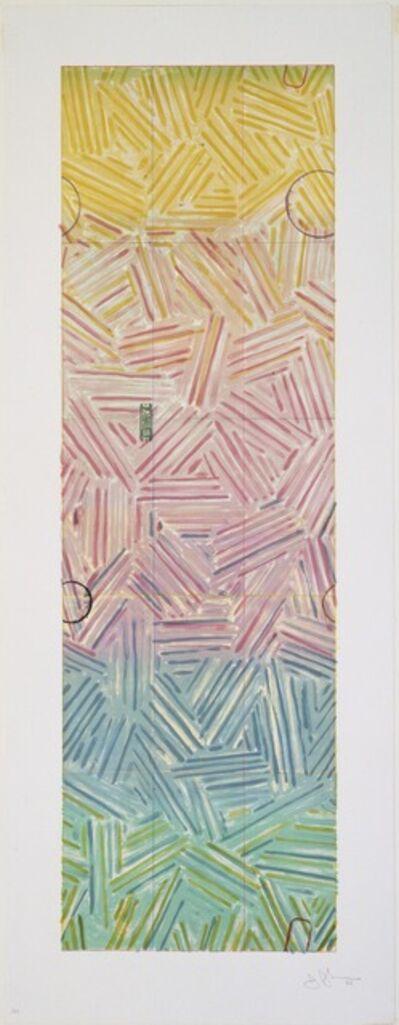 Jasper Johns, 'Usuyuki ', 1980