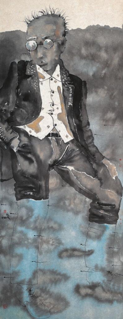 Liu Qinghe, 'Treading Waves', 2004