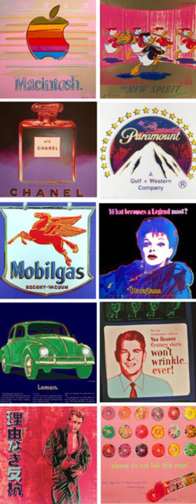 Andy Warhol, 'Ads Full Portfolio (F&S.II.350-359)', 1985