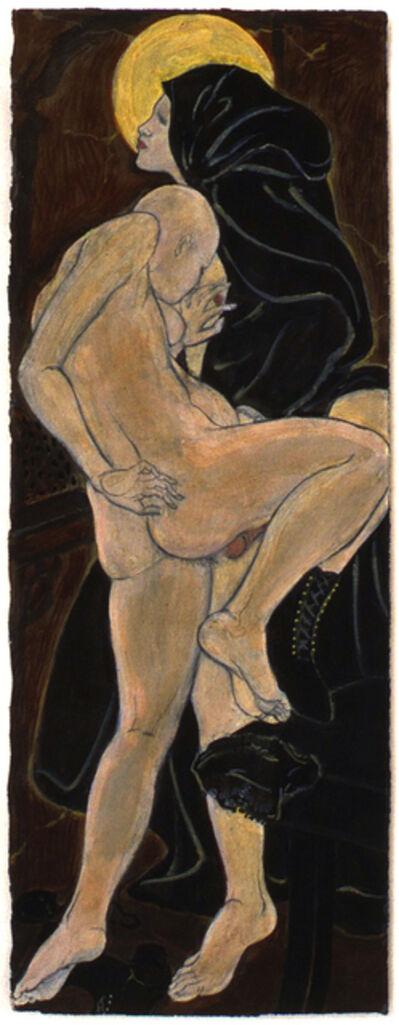 Masami Teraoka, 'Confessional Series/Pregnant Nun's Secret', 1994