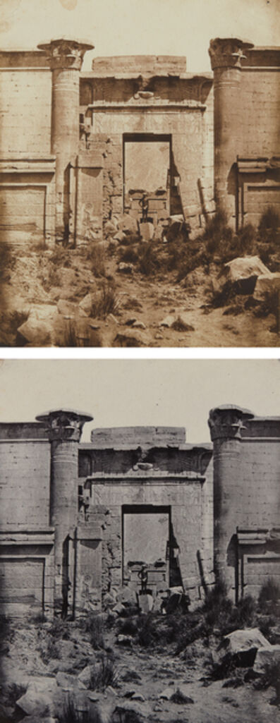 Maxime Du Camp, 'Selected Images of Medinet-Habou, Propylées du Thoutmoseum', 1849-1850