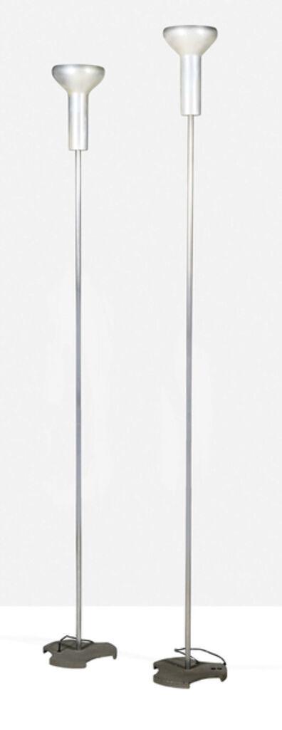 Gino Sarfatti, '2 standard lamps', 1956
