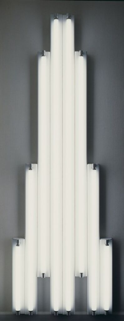 "Dan Flavin, '""monument"" for V. Tatlin', 1969"