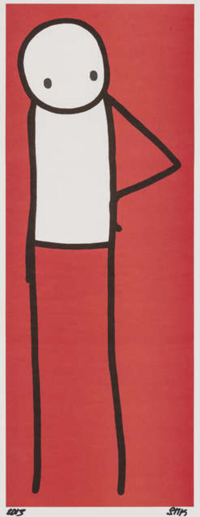 Stik, 'Hip (Red) + Japan Big Issue book', 2013
