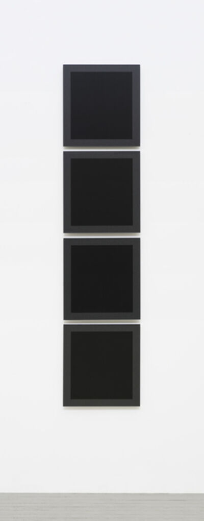 Hadi Tabatabai, 'Thread Painting 2015-4 (Four panels)', 2015