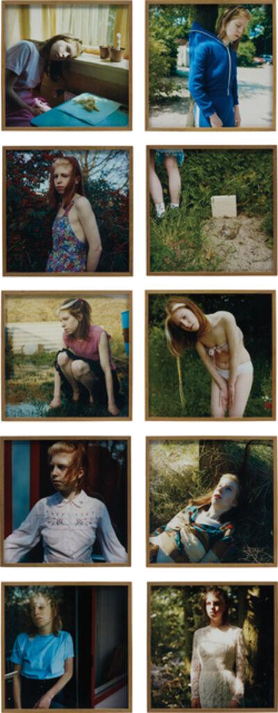 Hellen van Meene, 'Untitled (The Barbara Series)', 1997-1999