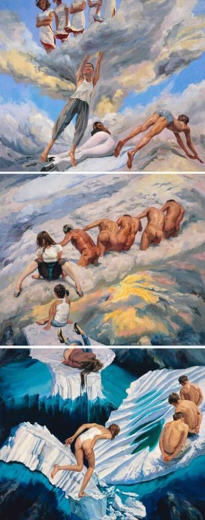 Yu Hong 喻红, 'Heaven on Earth《天上人间》', 2018
