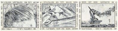 Marcel Odenbach, 'Spieglein, Spieglein an der Wand (..)', 1989