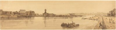 Thomas Girtin, 'View of the Village of Chaillot from the  Pont de la Concorde: pl.17', published 1802