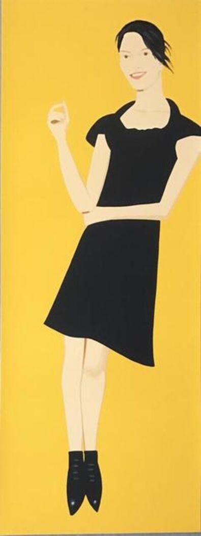 Alex Katz, 'Black Dress 7 (Carmen)', 2015