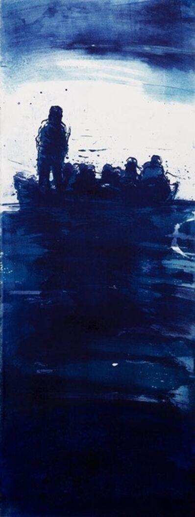 Christophe Hohler, 'Le Bateau 2 - original lithography', 2019