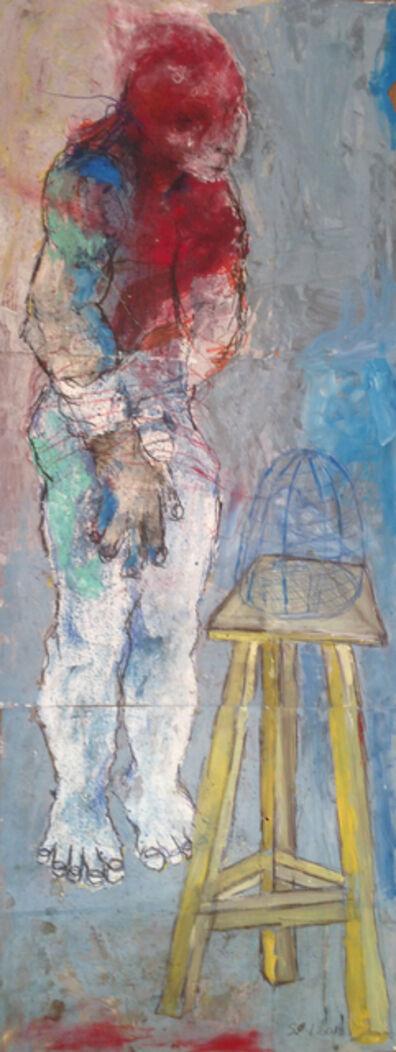Sadikou Oukpedjo, 'Marronné par un oiseau ', 2018