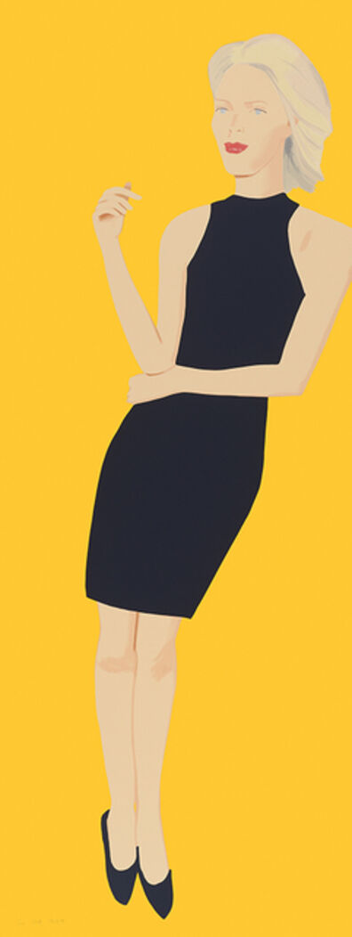Alex Katz, 'Black Dress VIII, Ruth (series)', 2015