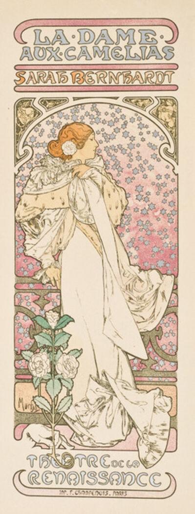 Alphonse Mucha, 'La Dame Aux Camélias', 1898