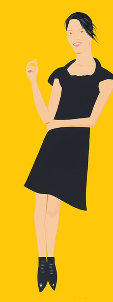 Alex Katz, 'Black Dress 7 (Carmen)', 2015