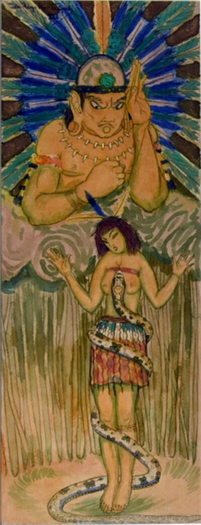 Vicente do Rego Monteiro, 'Lenda Amazonica', 1920