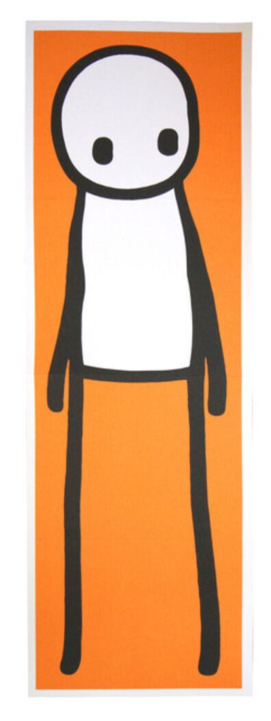 Stik, 'Standing Figure Orange', 2015