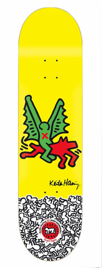 Keith Haring, 'Keith Haring Dragon Skateboard Deck ', 2012