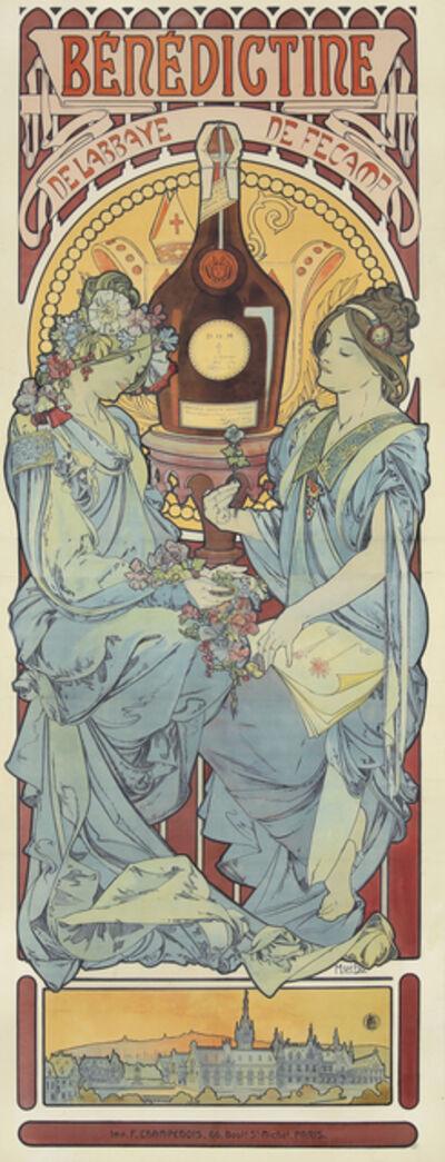 Alphonse Mucha, 'Bénédictine', 1898