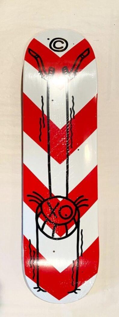 André Saraiva, 'Mr. A Street Sign Skate Deck', 2020