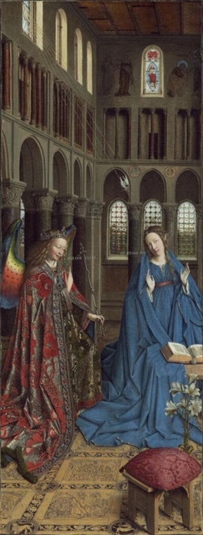 Jan van Eyck, 'The Annunciation', ca. 1390-1441