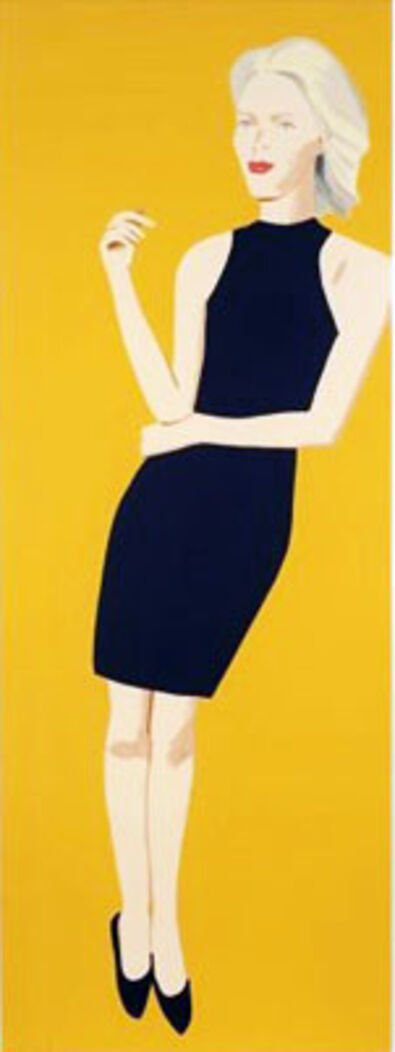 Alex Katz, 'Black Dress 8 (Ruth)', 2015