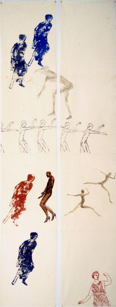 Nancy Spero, 'Elegy II', 1983