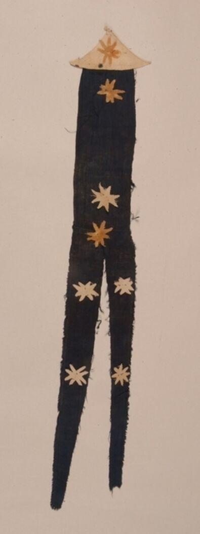 'Banner with floral appliqués', 618–907