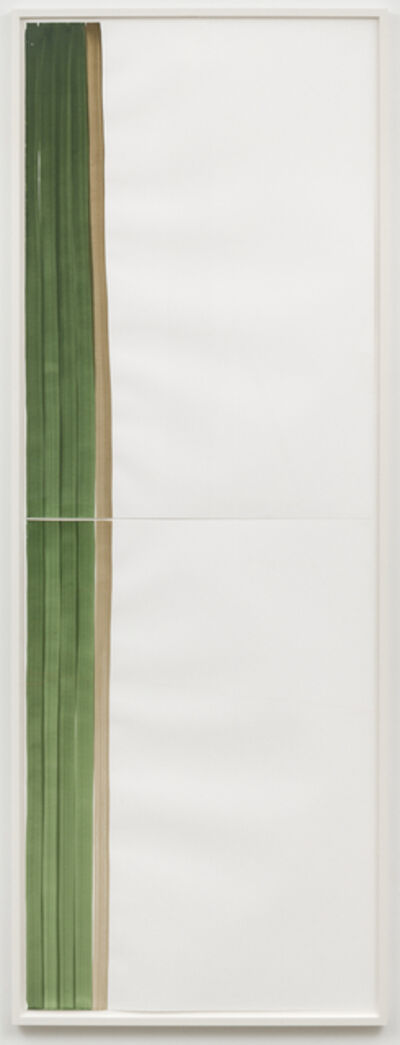 Silvia Bächli, 'Mantel Nr 31', 2018