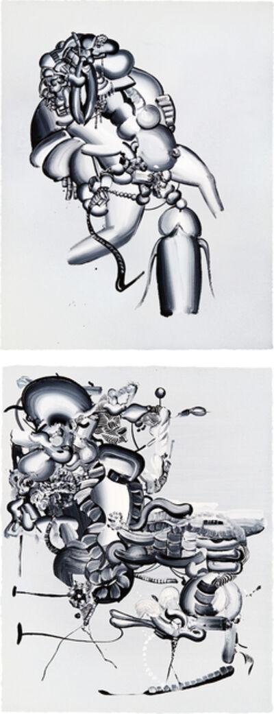 Tomoo Gokita, 'Two works: (i) Desire Develops an Edge (ii) Bye, bye, baby', 2006