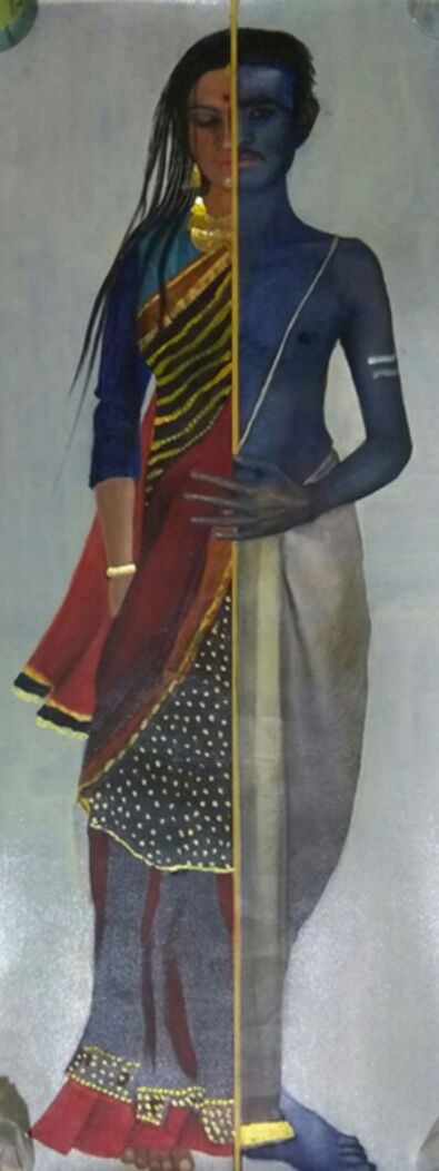Anjolie Ela Menon, 'Ardhanareeshwar', 2015