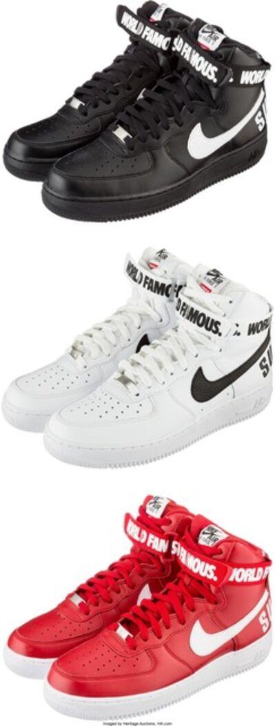 Nike, 'Air Force 1 High Supreme SP; 3 pairs', 2014