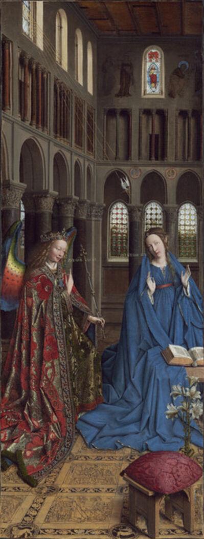 Jan van Eyck, 'The Annunciation', ca. 1434/1436
