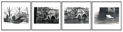 Lea Lublin, 'Dissolution Dans L'eau Pont Marie - 17 Heures, 1978 París 11th of May', 1978