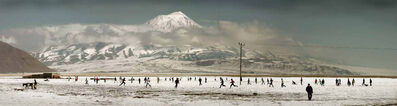 Nuri Bilge Ceylan, 'Football Players Near Mount Ararat', 2004